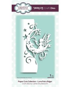 Creative Expressions Paper Cuts Collection - Luna Fairy Edger Craft Die