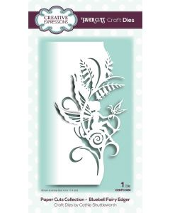 Creative Expressions Paper Cuts Collection - Bluebell Fairy Edger Craft Die