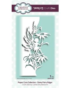 Creative Expressions Paper Cuts Collection - Daisy Fairy Edger Craft Die