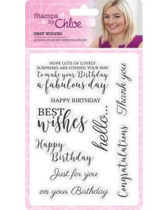 Stamps by Chloe Sentiments - Best Wishes