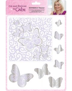 Cut and Emboss by Chloe – Butterfly Trails