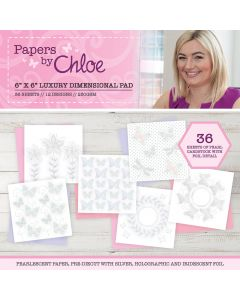 Papers by Chloe – 6x6 Dimensional Pad