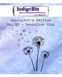 IndigoBlu Collectors Edition Mini Rubber Stamp No.28 - Dandelion