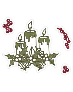 Sara Signature A Winter's Tale Metal Die - Candlelit Christmas
