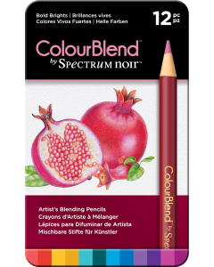 ColourBlend by Spectrum Noir 12 Pencil Set - Bold Brights