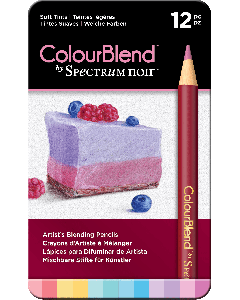 ColourBlend by Spectrum Noir 12 Pencil Set - Soft Tints