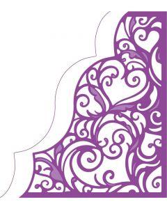 Gemini Create-a-Card Corner Tessellating Dies - Love and Romance