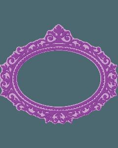 Gemini Shaped Cut and Emboss Folder - Provence Frame