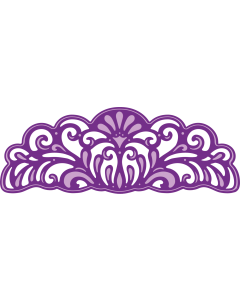 Gemini Ornate Thick Edge'ables Metal Die - Amethyst Edge