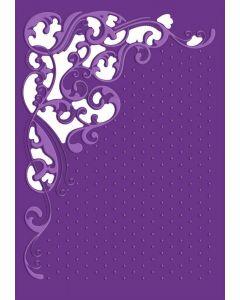 Gemini Cut and Emboss Folder - Flourishing Swirls