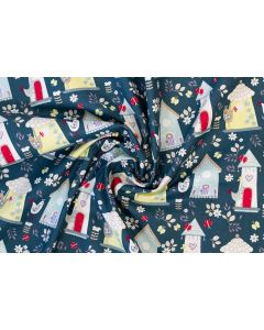 Threaders Country Yard Fabric - Country Yard