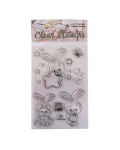 Craft Sensations Clear Stamps - Bunny (10 stamps)