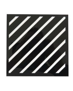 "Craft Sensations 6""x6"" Card Making Deco Stencil Set - Stripes and Patterns"