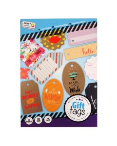 Craft Sensations A5 200gsm Gift Tag Pad - Make a Wish