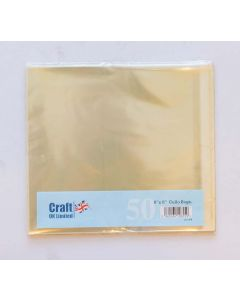 Craft UK 8x8 Cello Bags - pack of 50
