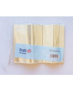 Craft UK A6 Cello Bags - pack of 50