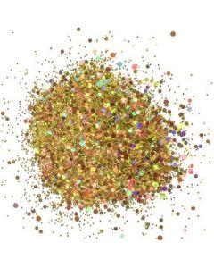 Cosmic Shimmer Holographic Glitterbitz - Midas Gold