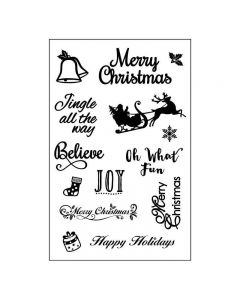 Crafts Too Clear Stamp Set - Christmas Sleigh