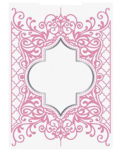 Sara Signature Sew Homemade Cut & Emboss Folder - Decorative Lattice Frame