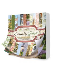 """Hunkydory Country Days 8"""" x 8"""" Paper Pad"""