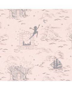 Michael Miller Fabrics Peter Pan Second Star to the Right - Blush