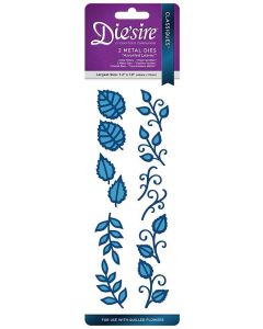 Die'sire Classiques Quilling Flower Die - Assorted Leaves
