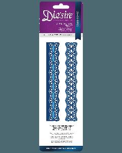 Die'sire Classiques Ribbon Threading Metal Die - Bloom