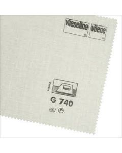 Vlieseline Medium Brushed Cotton Woven - Ecru