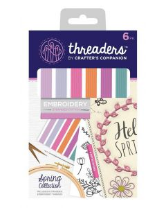 Threaders Stranded Embroidery Cotton - Spring