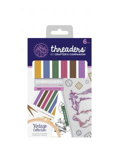 Threaders Stranded Embroidery Cotton - Vintage