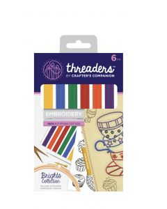 Threaders Stranded Embroidery Cotton - Brights