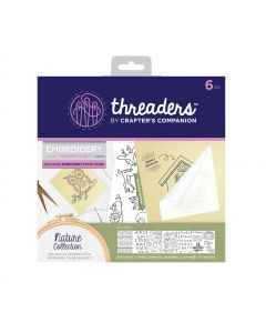Threaders Embroidery Transfer Sheets - Nature