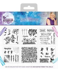 Sara Signature Enchanted Forest - Foil Transfers