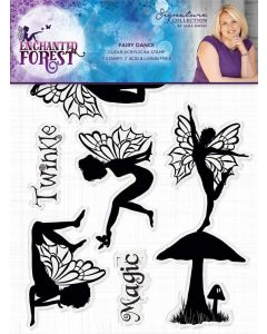 Sara Signature Enchanted Forest Acrylic Stamp - Fairy Dance