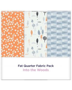 Threaders Fat Quarter Fabric Pack - Into the Woods 3pc