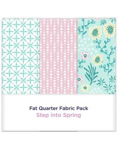 Threaders Fat Quarter Fabric Pack - Step into Spring 3pc