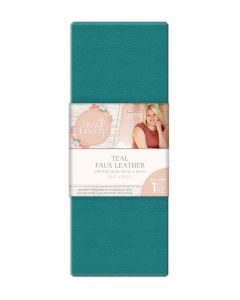 Sara Signature Sew Lovely Faux leather - Teal