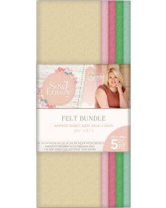 Sara Signature Sew Lovely - Felt Bundle (5PK)