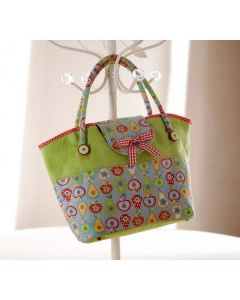 Debbie Shore Pattern and Instructions Download - Flora Bag