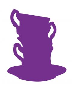 Gemini Elements Die - Floral Tea Cups