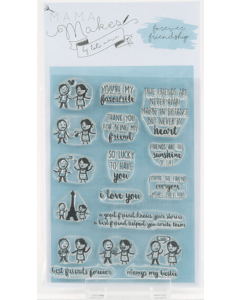 Mama Makes Clear Photopolymer Stamps - Forever Friendship