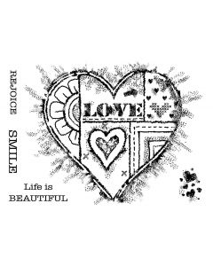 Woodware Clear Singles - Bold Heart