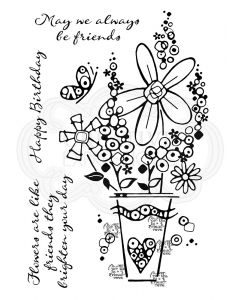 Woodware Clear Singles - Millefiori Vase