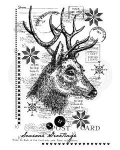 Woodware Clear Singles - Vintage Deer