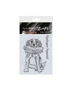 Hunkydory It's a Dog's Life Clear Stamp - Springer Spaniel
