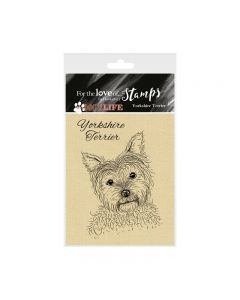 Hunkydory It's a Dog's Life Clear Stamp - Yorkshire Terrier