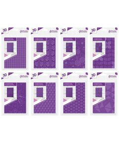 Gemini Decorative and Geometric 3D Embossing Folder Collection