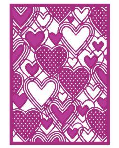 Gemini Create a Card Metal Die - Only Love