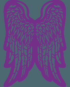 Gemini Create-a-Card Cut on Edge Metal Die - Graceful Wings