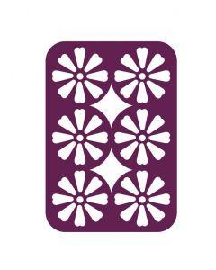 Gemini Multi Media Die - Decorative Daisy Panel